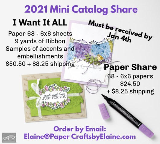 Jan-June 2021 product share, product share like no other,  card making product shares.