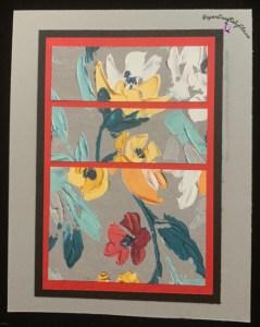 One sheet wonder, Fine art floral pattern paper, designer series paper, greeting cards, cardmaking, card, making, handmade greeting cards, quick and easy cards. 8 cards from 1/2 sheet,