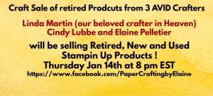 Online retired craft sale, Largest online craft sale, craft sale, selling out large craft sale, Retired Stampin' Up Sale,
