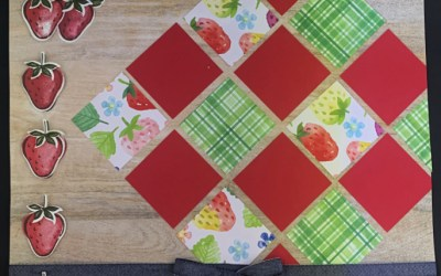 Scrapbook Layout Quilting Style