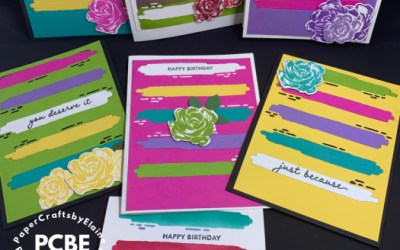 Die Cut for One Card Makes 7