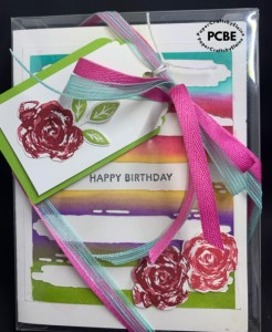 brushstrokes in bloom dies, easy gift idea, add a smile gift, a loving gift, Happy Birthday gift,
