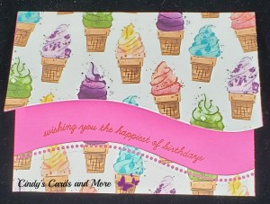 Quite Curvy cards, Ice Cream Curvy style, Ice cream cards, Happy Birthday cards, greeting cards, card ideas for summer, handmade greeting cards,