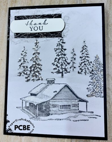 Peaceful Cabin, Tutorial & PDF additions, Aug additions to tutorial membership,