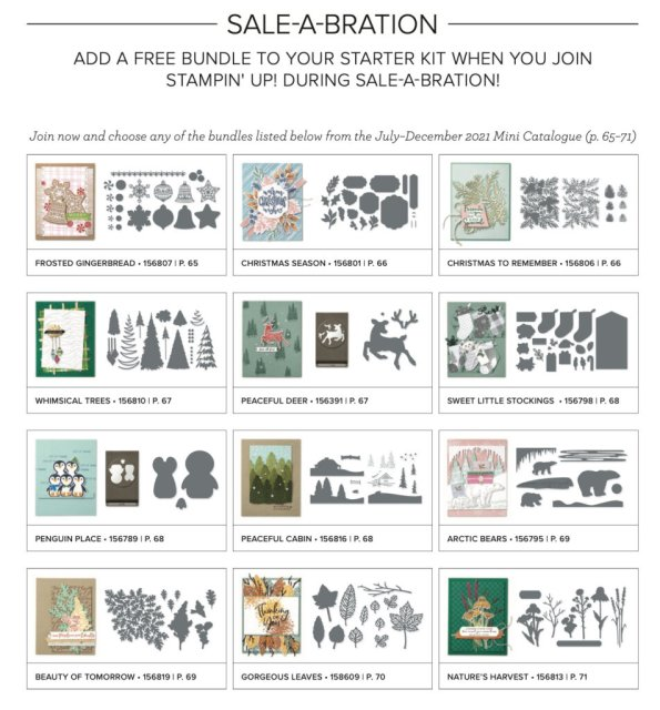 Free Stampin' Up bundle, join Stampin' Up,  Sale-a-bration bonus, join Stampin' Up, Stampin' Up join today,