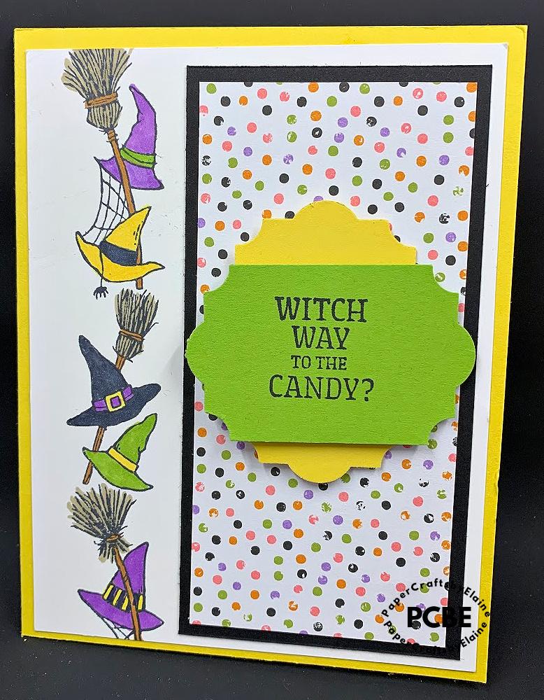 Frightfully Halloween, Halloween cards from Stampin' Up, Stampin' Up halloween cards,