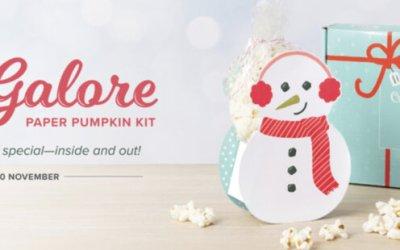 Gifts Galore Paper Pumpkin Nov 2021