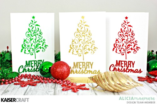 Diy Clean And Simple Christmas Cards Paper Craft Secrets