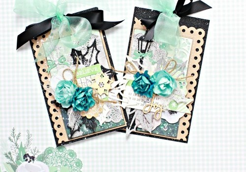Kaisercraft Mint Wishes Christmas Gift Tags