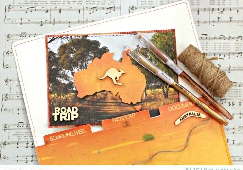 Kaisercraft Open Road Postcard