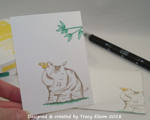 1470 Animal Outing Notecard