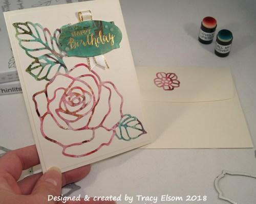 1488 Magazine Rose Card