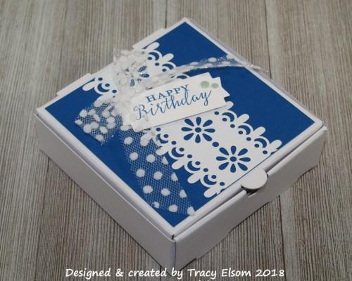 BB34 Birthday Pizza Box