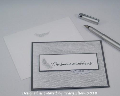 1506 Sincere Condolences Card