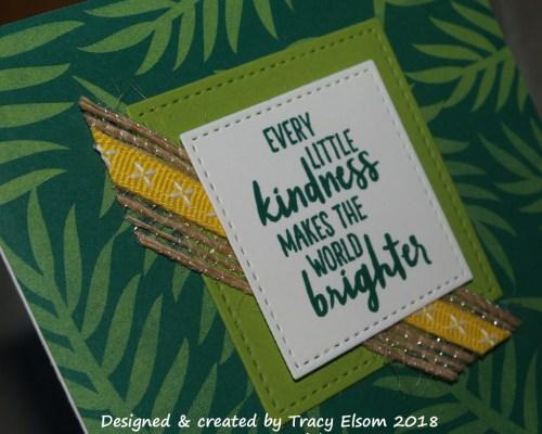 1517 Tropical Kindness Card