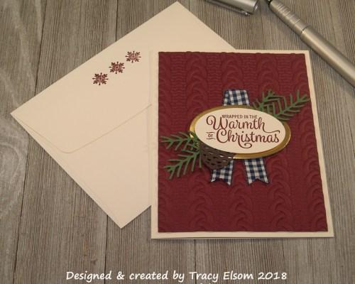 1518 Merry Merlot Christmas Card