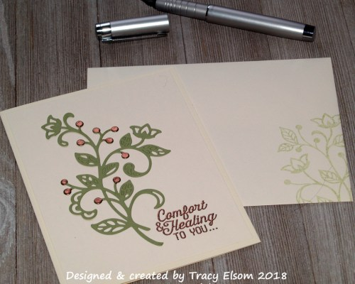 1527 Copper Comfort Card