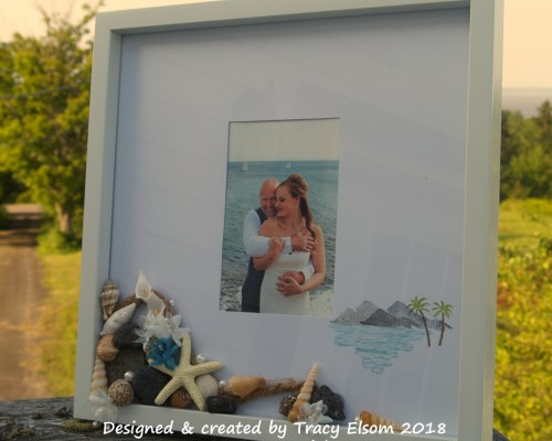 Beach Wedding Frame