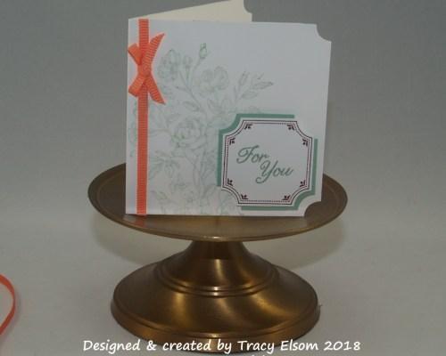 Very Vintage Gift Tag