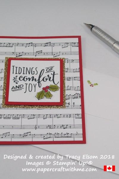 Christmas Pines and Sheet Music