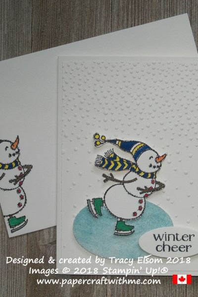Spirited Snowmen and relief from the heat