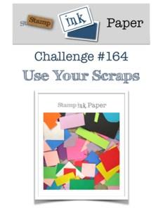 Stamp Ink Paper Challenge SIP164 - Scraps (August 21st to 26, 2018)