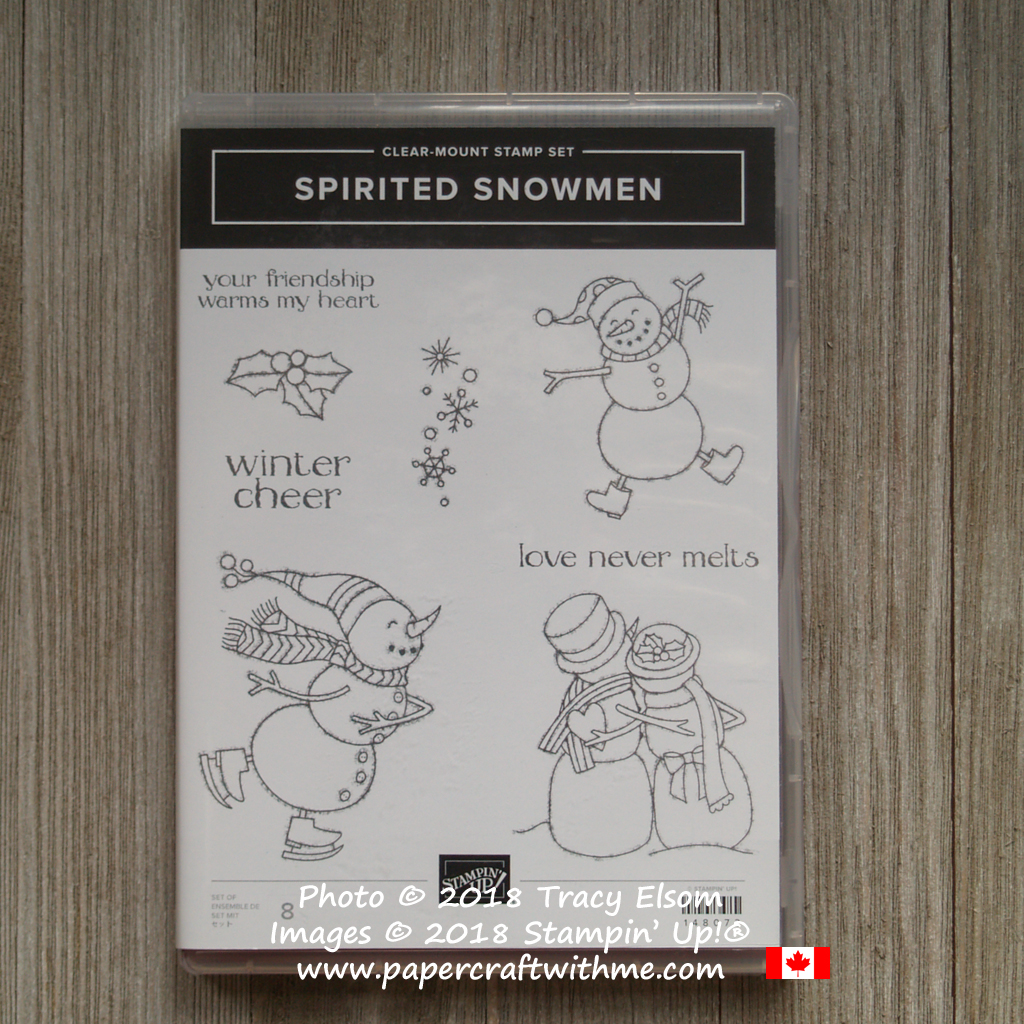 Spirited Snowmen Stamp Set from Stampin' Up!