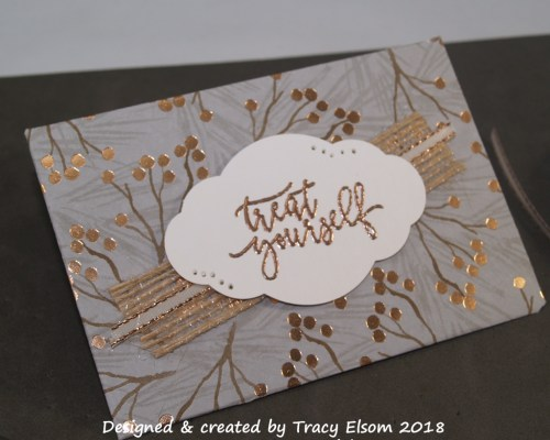 GC180 Treat Yourself Gift Card Envelope