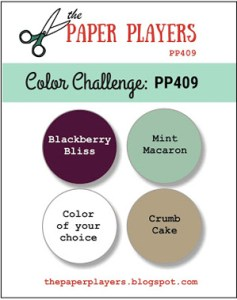 The Paper Players Challenge PP409 - Colors (September 9-14, 2018)