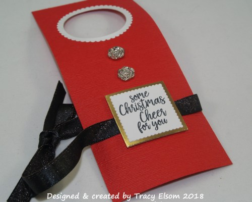 Christmas Cheer Bottle Tag