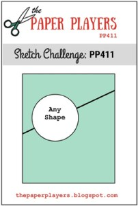 The Paper Players design challenge sketch PP411 (September 23 to 28, 2018)