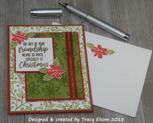 1558 Christmas Friendship Card