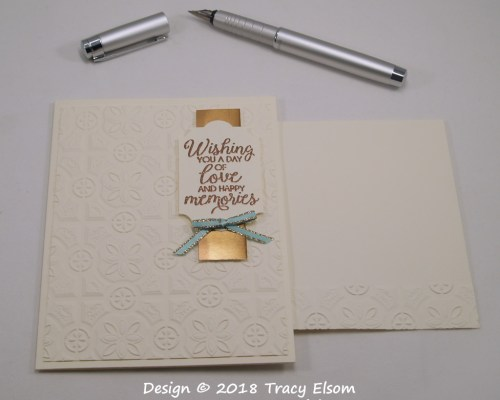 1621 Love And Happy Memories Card