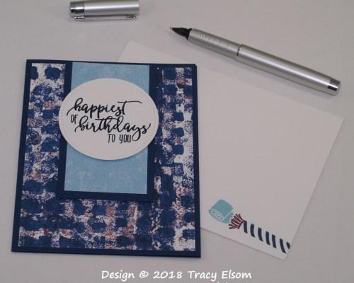 1626 Happiest of Birthdays Card