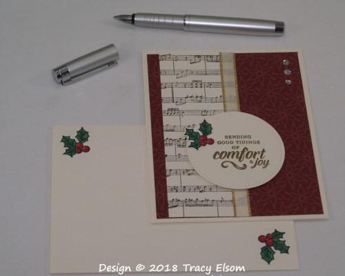 1631 Comfort & Joy Card