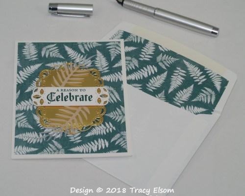 1635 Fern Celebration Card