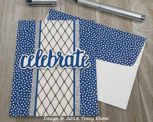 1668 Celebrate Card