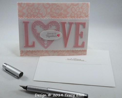 1693 L♥VE Our Life Together Card