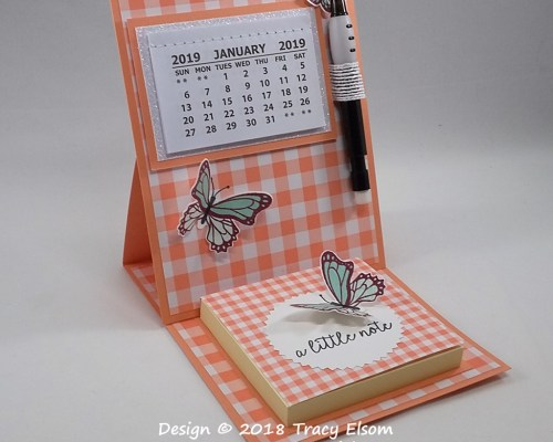 P42 Easel Calendar with Post-It® Notes