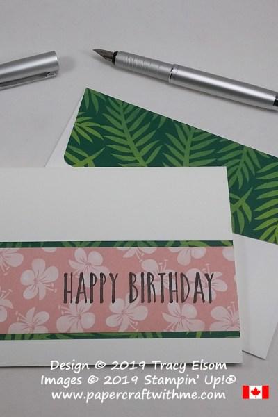 Perennial Birthday #SimpleStamping
