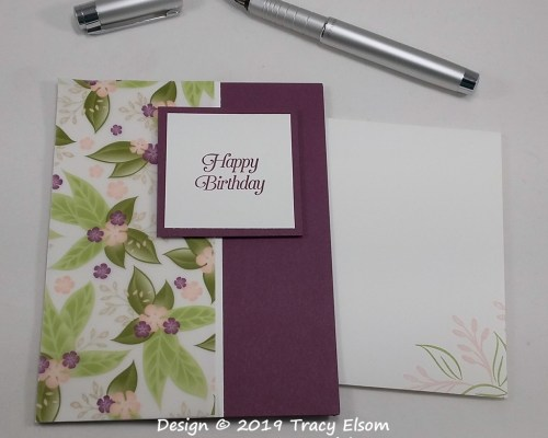 1706 Happy Birthday #SimpleStamping Card