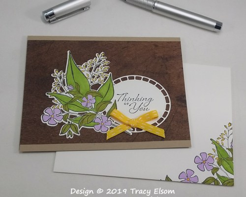 1709 Bouquet Thinking of You Card
