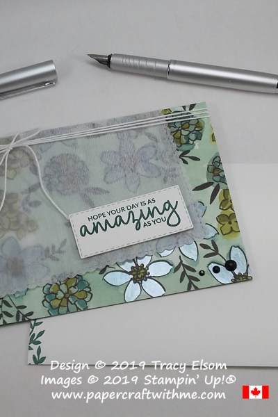 Amazing day card created using the Incredible Like You Stamp Set from Stampin' Up!