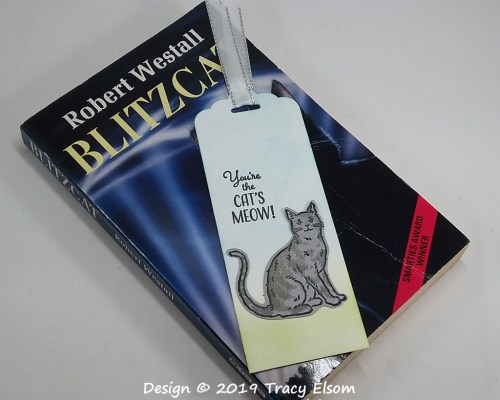 BM216 Cat's Meow Bookmark