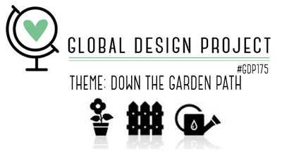 Global Design Project Challenge logo for GDP175 Down The Garden Path (Feb 4 to 11, 2019)
