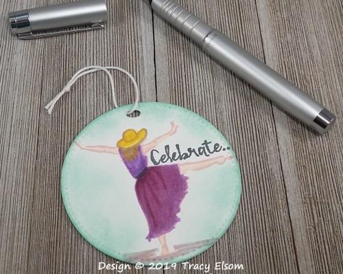 Celebrate Dancer Tag