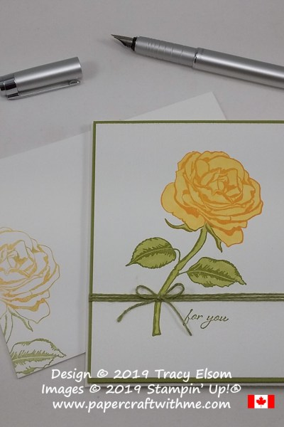 A Yellow Rose For You