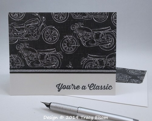 1757 Classic Motorcycle Card