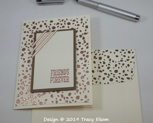 1758 Friends Forever Card