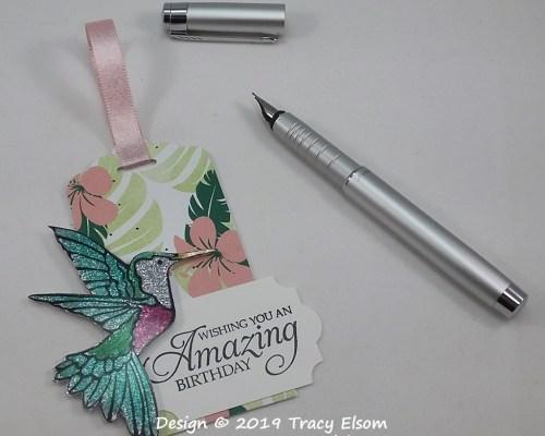Amazing Hummingbird Tag